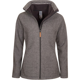 Elkline Destination Fleece Jacke Damen greymelange